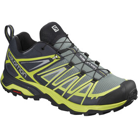 Salomon X Ultra 3 Zapatillas Hombre, lead/graphite/acid lime